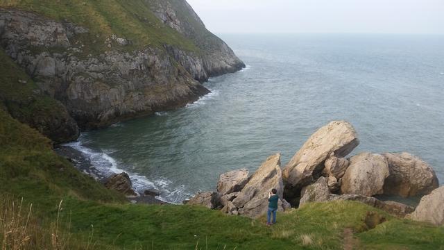 Petit Orme - Penrhyn Bay (Ce n'est pas un endroit dégueu pour prendre des phoques en photo)