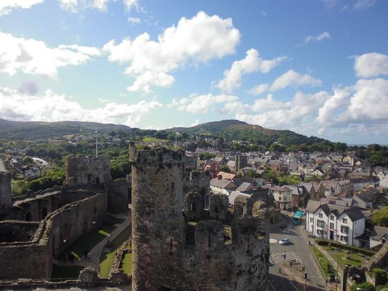 Conwy – Conwy Castle & la ville en contrebas